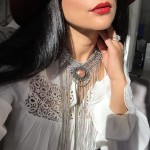 Red Lips, Statement Necklace, Jewelry, Forever21