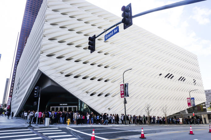 The Broad Museum, Downtown Los Angeles, Contemporary Art Museum, Yayoi Kusama's Infinity Mirrored Room